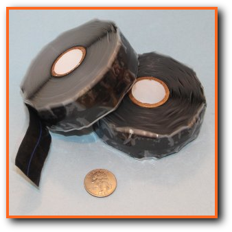 AA59163 and MIL-I-46852 Aviation Self Fusing Mil-Spec Silicone Rubber Tapes